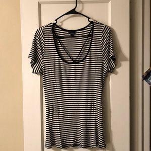 Torrid Stripe shirt